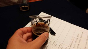 One of my fellow judges, who happened to be assigned the Specialty 增味 category, gave me a taste of a Black Sorghum stout.  Spicy and phenolic, almost medicinal.  Interesting, though I wouldn't drink more than a sample of this particular batch.  Work in progress with a unique ingredient?